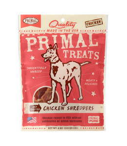 Primal Pet Foods Primal Dry Roasted Chicken Shredders 4oz
