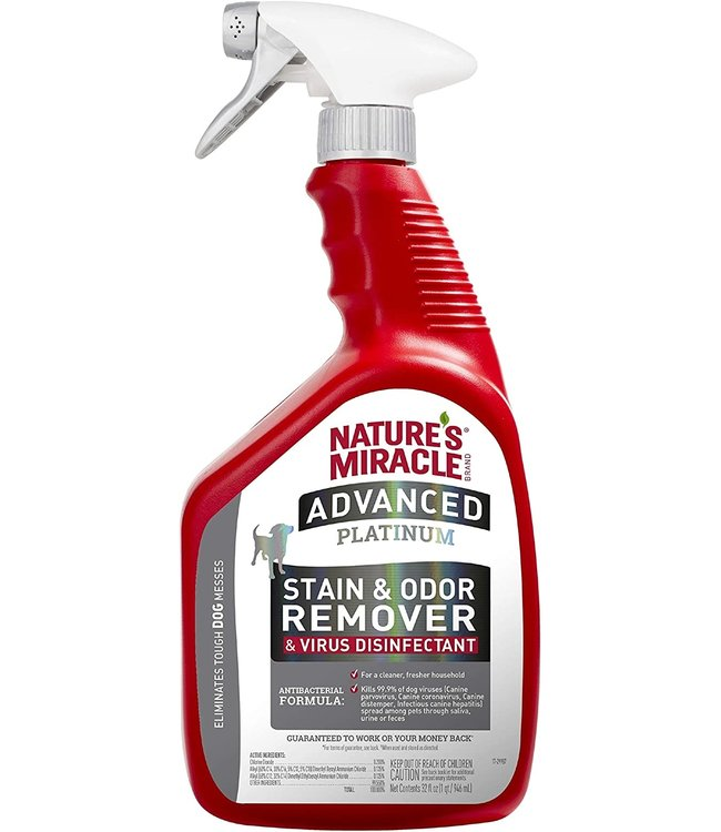 Nature's Miracle® Nature's Miracle® Advanced Platinum Stain & Odor Remover & Virus Disinfectant 32oz