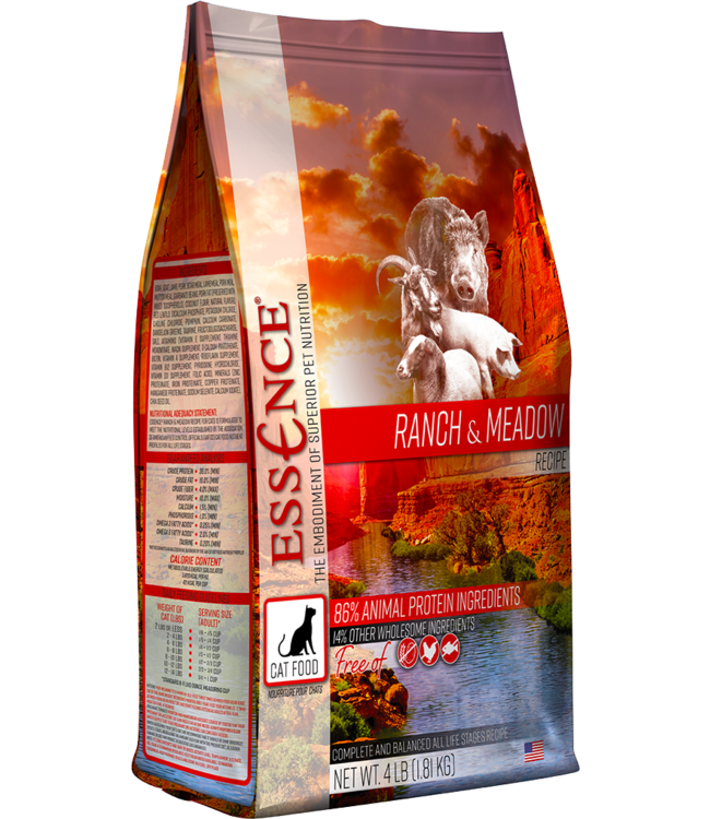 Essence® Essence® Cat Dry Grain-Free Ranch & Meadow Recipe