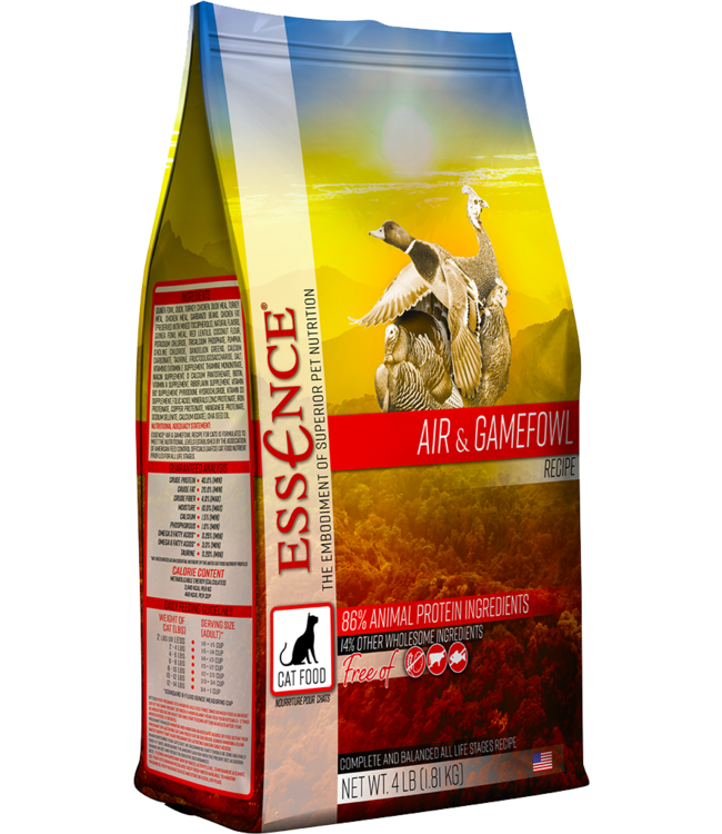 Essence® Essence® Cat Dry Grain-Free Air & Gamefowl Recipe