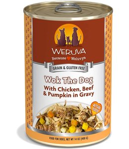 Weruva Weruva Wok The Dog with Chicken, Beef & Pumpkin in Gravy