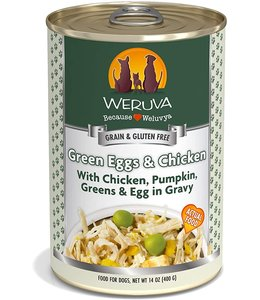 Weruva Weruva Green Eggs & Chicken with Chicken, Pumpkin, Greens & Egg in Gravy