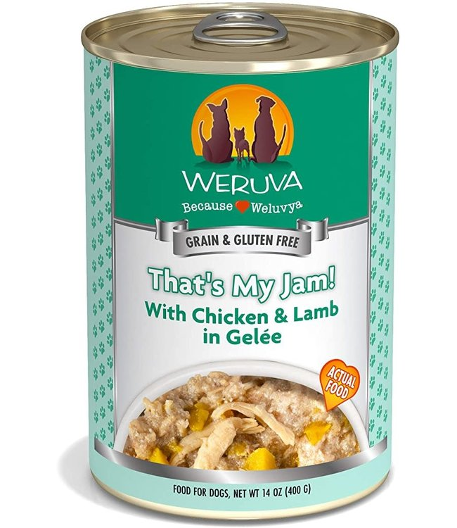 Weruva Weruva That's My Jam! with Chicken & Lamb in Gelée