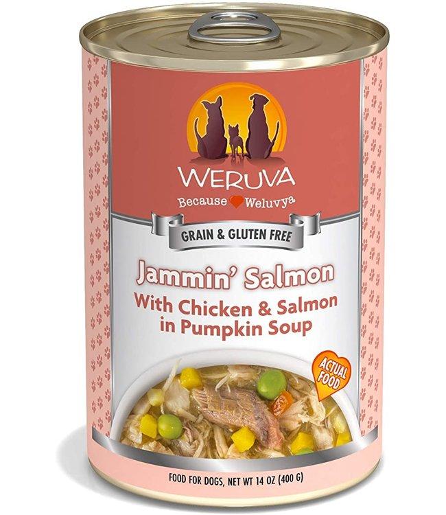 Weruva Weruva Jammin' Salmon with Chicken & Salmon in Pumpkin Soup