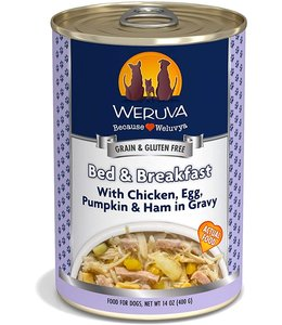 Weruva Weruva Bed & Breakfast with Chicken, Egg, Pumpkin & Ham in Gravy