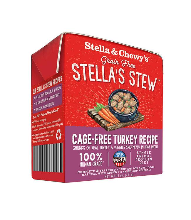 Stella & Chewy's® Stella & Chewy's Dog Stews Turkey Cage-Free 11 oz