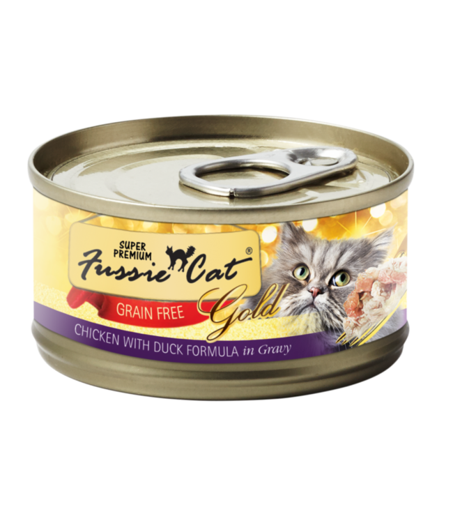 Fussie Cat Fussie Cat Chicken With Duck Formula In Gravy 2.82 oz