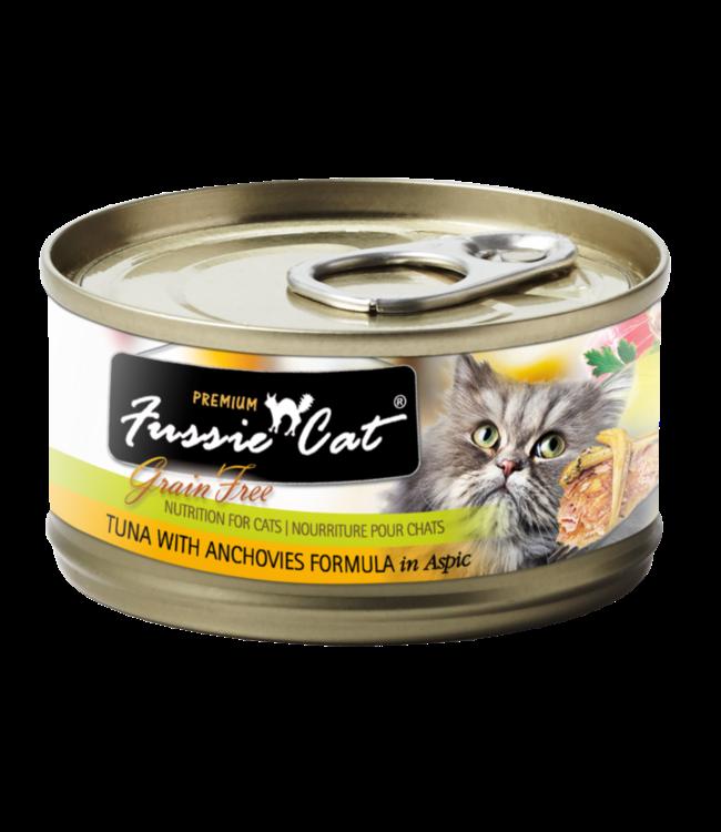 Fussie Cat Fussie Cat Tuna With Anchovies Formula In Aspic 2.82 oz