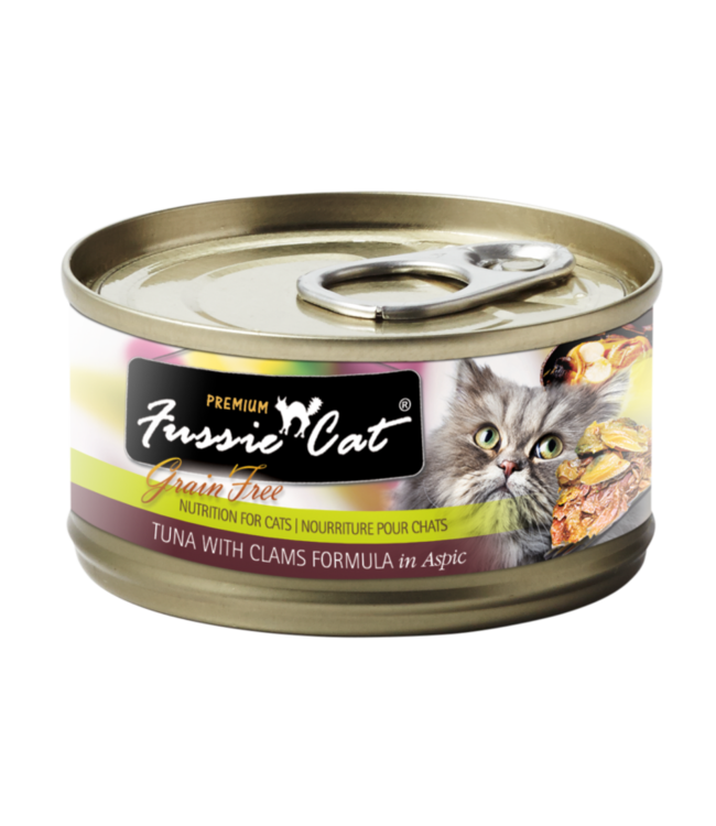 Fussie Cat Fussie Cat Tuna With Clams Formula In Aspic 2.82 oz