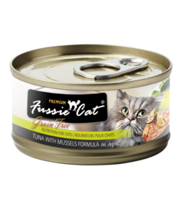 Fussie Cat Fussie Cat Tuna With Mussels Formula In Aspic 2.82 oz