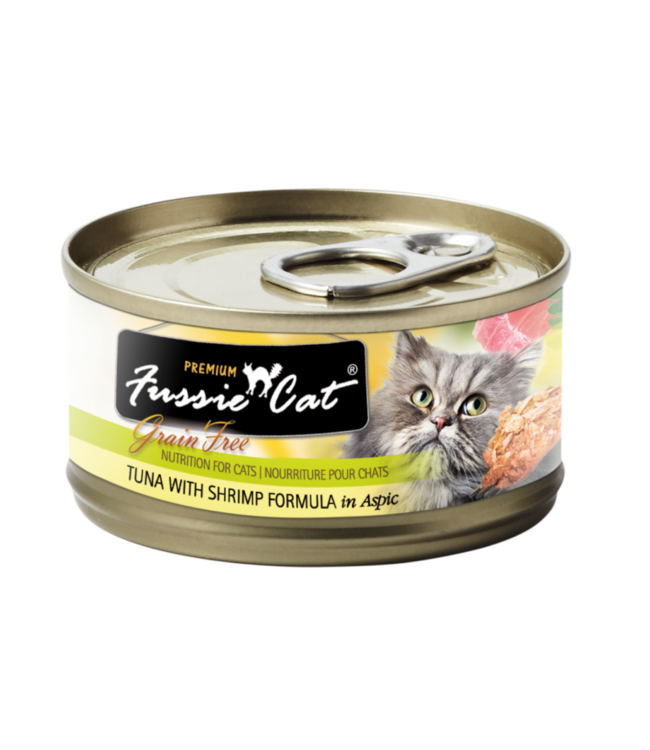 Fussie Cat Fussie Cat Tuna With Shrimp Formula In Aspic 2.82 oz
