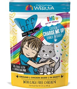 Weruva Weruva b.f.f. Chicken Charge Me Up Chicken Dinner in Gravy (2.8 oz Pouch)