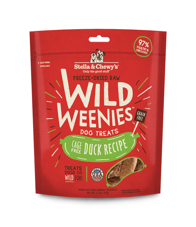 Stella & Chewy's Stella & Chewy's Cage-Free Duck Wild Weenies 3.25oz