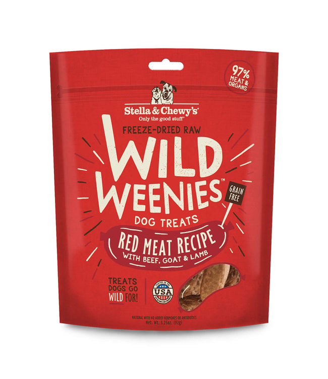Stella & Chewy's® Stella & Chewy's Red Meat Wild Weenies 3.25oz