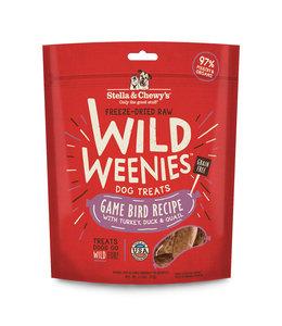 Stella & Chewy's Stella & Chewy's Game Bird Wild Weenies 3.25oz