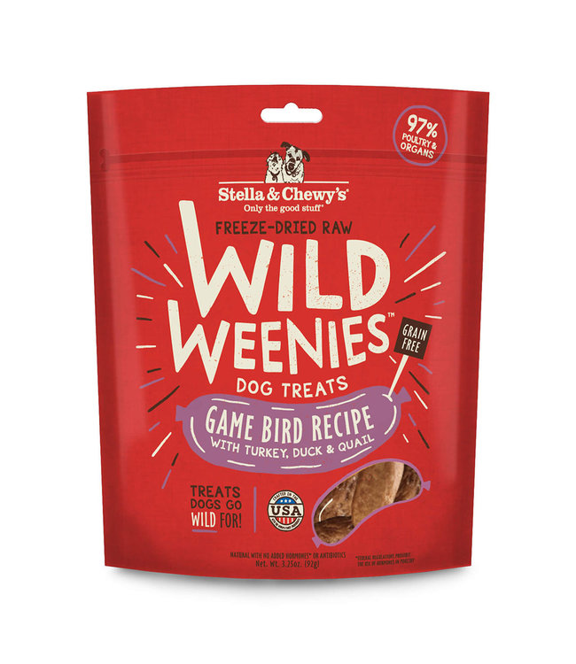 Stella & Chewy's® Stella & Chewy's Game Bird Wild Weenies 3.25oz