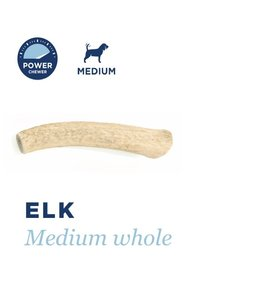 Barkworthies Barkworthies Whole Elk Antler Medium