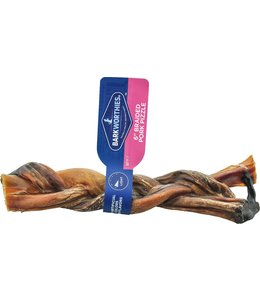 Barkworthies Barkworthies Pork Pizzle Braided 6""