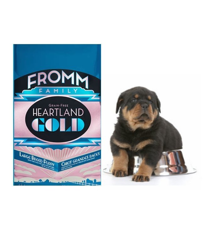 Fromm Family Foods Fromm Grain Free Heartland Gold Large Breed Puppy