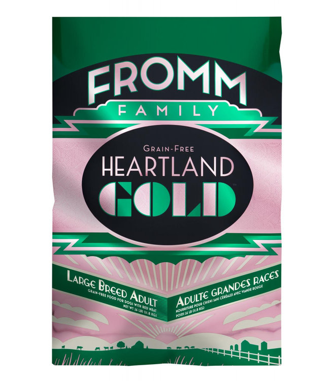Fromm Family Foods Fromm Grain Free Heartland Gold Large Breed Adult