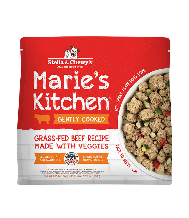 Stella & Chewy's® Stella & Chewy's Dog Frozen Marie's Kitchen Beef Grass-Fed 3.25#