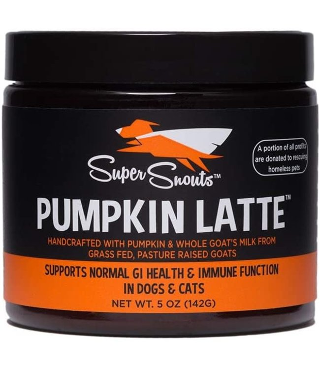 Diggin' Your Dog Diggin' Your Dog Super Snouts Pumpkin Latte – Pumpkin + Goat's Milk
