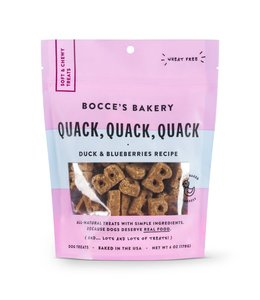 Bocce's Bakery Bocce Bakery Soft & Chewy Quack Quack Duck 6 oz