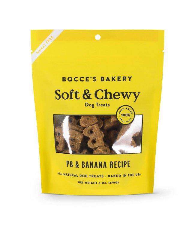 Bocce's Bakery Bocce Soft Chew PB & Banana 6oz