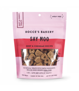 Bocce's Bakery Bocce Bakery Soft & Chewy Say Moo 6 oz