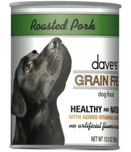 Dave's Pet Food Dave's Grain Free Roast Pork & Sweet Potato 13 OZ