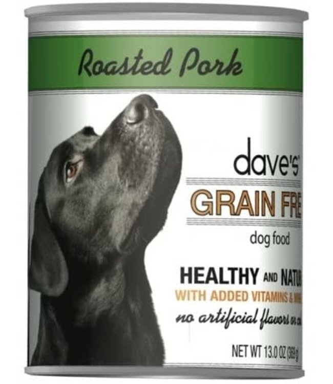 Dave's Pet Food Dave's Grain Free Roast Pork & Sweet Potato 13 OZ