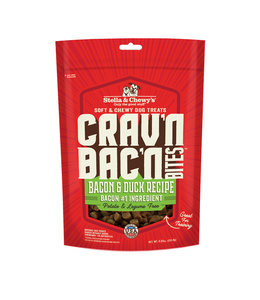 Stella & Chewy's Stella & Chewy's Dog Treat Crav'n Bites Bacon Duck 8.25 oz