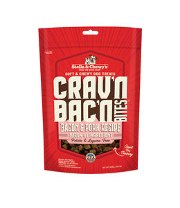 Stella & Chewy's Stella & Chewy's Dog Treat Crav'n Bites Bacon Pork 8.25 oz