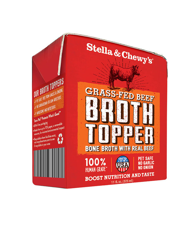 Stella & Chewy's® Stella & Chewy's Broth Topper Grass-Fed Beef 11 oz