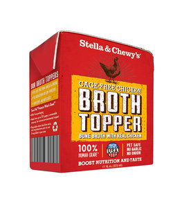 Stella & Chewy's Stella & Chewy's Broth Topper Chicken Cage-Free 11 oz