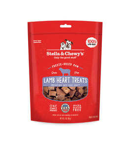 Stella & Chewy's Stella & Chewy's Freeze Dried Lamb Heart 3oz