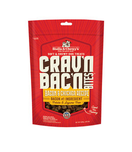 Stella & Chewy's Stella & Chewy's Dog Treat Crav'n Bites Bacon Chicken 8.25 oz