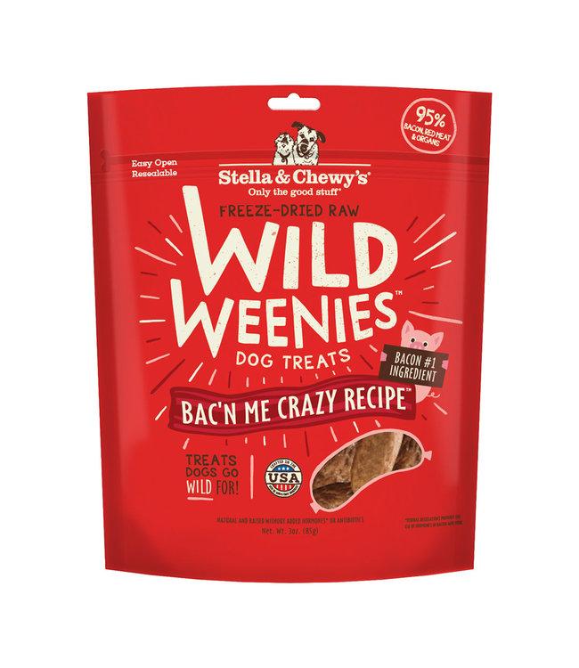 Stella & Chewy's Stella & Chewy's Freeze Dried Wild Weenies Bac'n Me Crazy 3 oz