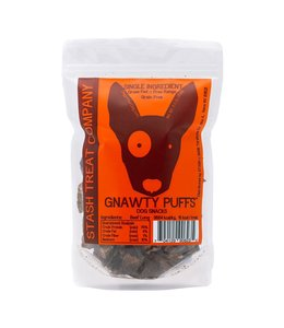Diggin' Your Dog Diggin' Your Dog Stash Treat Gnawty Puffs Bite Size Beef Lung 5.5 oz