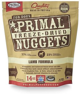 Primal Pet Foods Primal Raw Freeze-Dried Lamb Nuggets