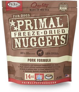 Primal Pet Foods Primal Raw Freeze-Dried Pork Nuggets
