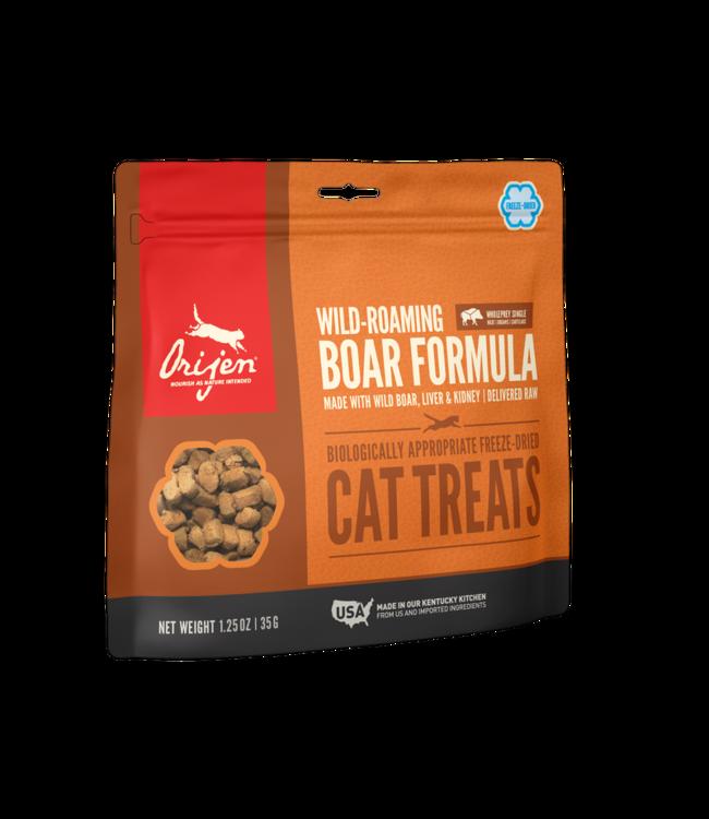 Champion Pet Foods ORIJEN Freeze-Dried Cat Treats Wild Boar 1.25oz