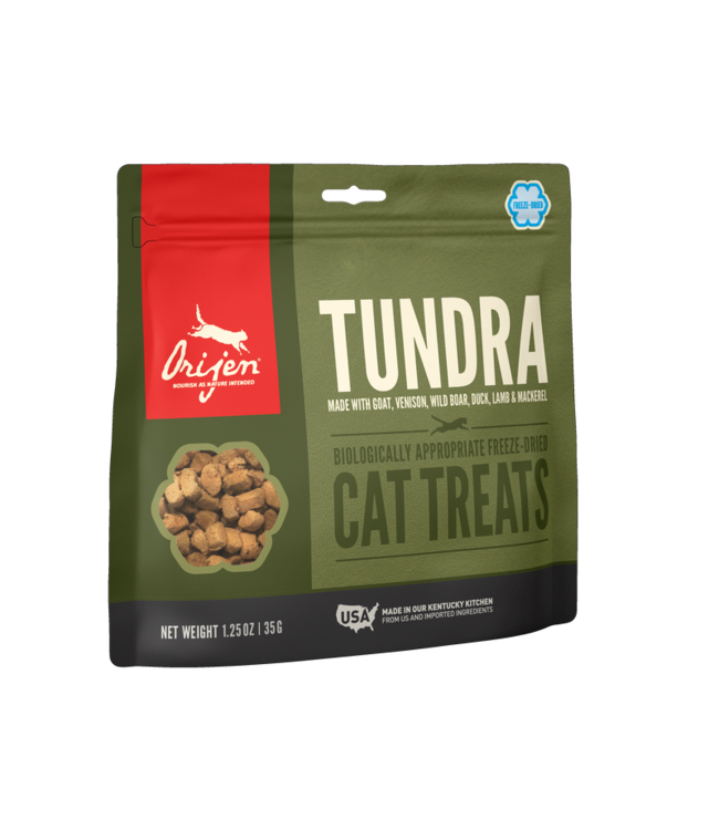 Champion Pet Foods ORIJEN Freeze-Dried Cat Treats Tundra 1.25oz