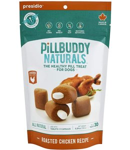 Presidio Natural Pet Co Presidio Dog Treat Pill Buddy Naturals Grilled Chicken 5.3 oz