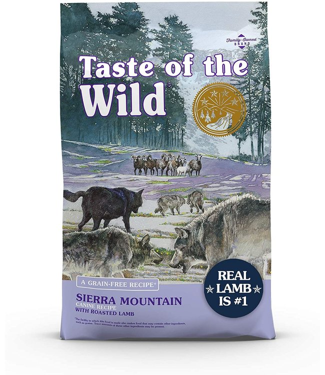 Taste of the Wild Taste of the Wild® Sierra Mountain Canine Recipe
