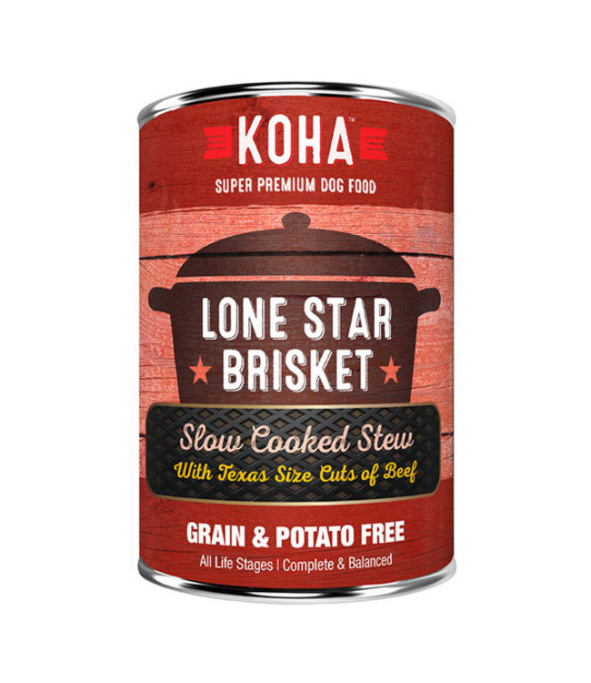 Koha Koha Lone Star Brisket Slow Cooked Stew Beef 12.7 oz