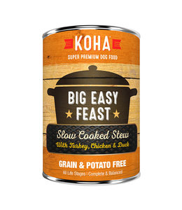 Koha Koha Big Easy Feast Slow Cooked Stew Turkey, Chicken, & Duck 12.7 oz