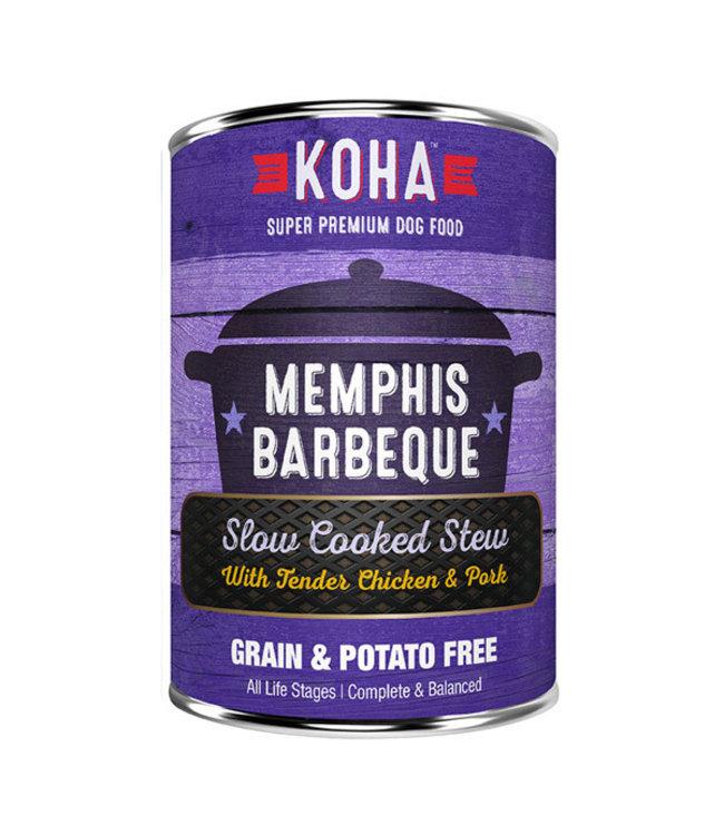 Koha Koha Memphis Barbeque Slow Cooked Stew Chicken & Pork 12.7 oz