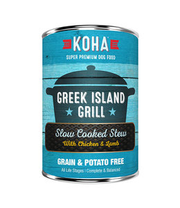 Koha Koha Greek Island Grill Slow Cooked Stew Chicken and Lamb 12.7 oz