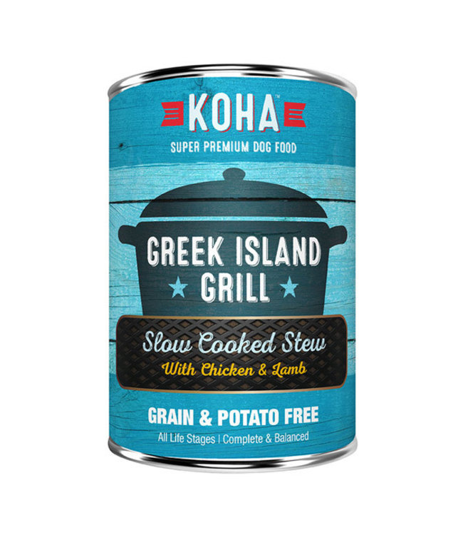 Koha Koha Greek Island Grill Slow Cooked Stew Chicken and Lamb 12.7 oz